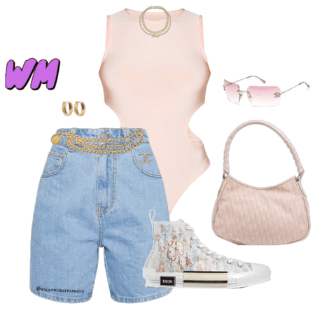 Pink Chanel Dior Summer Fit
