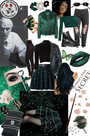 Emerald- Slytherin Inspired