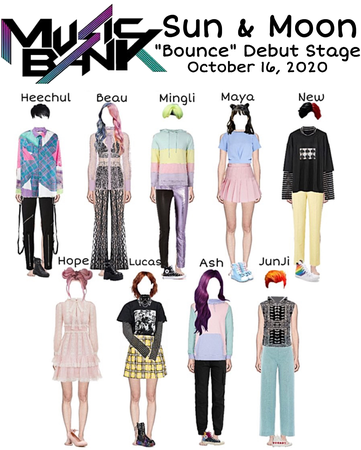 """Sun & Moon """"Bounce"""" Music Bank Debut Stage"""