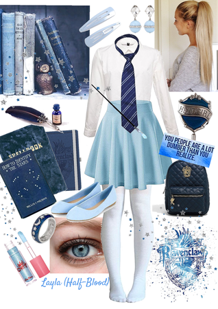 💙 Layla (as a Ravenclaw) 💙