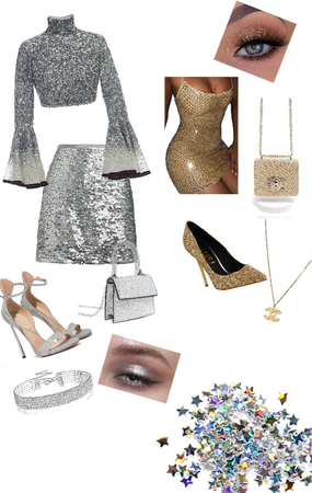 a girls glitter