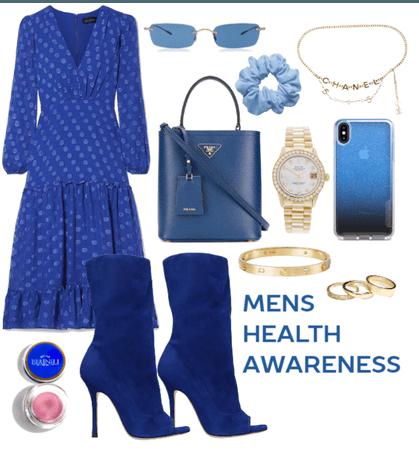 Mens Health Awareness Blues