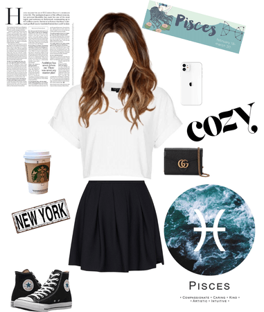 the perfect outfit of Pisces ♓️