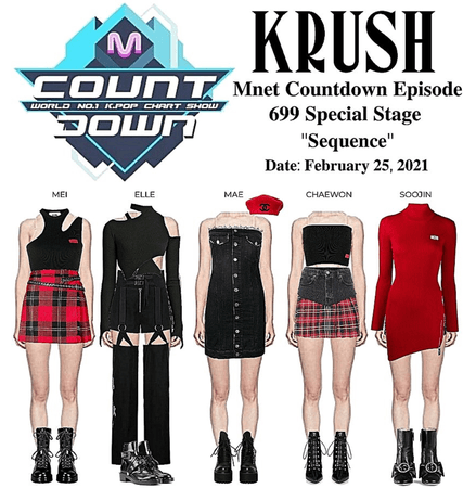 """KRUSH Mnet Countdown Special Stage """"Sequence"""""""