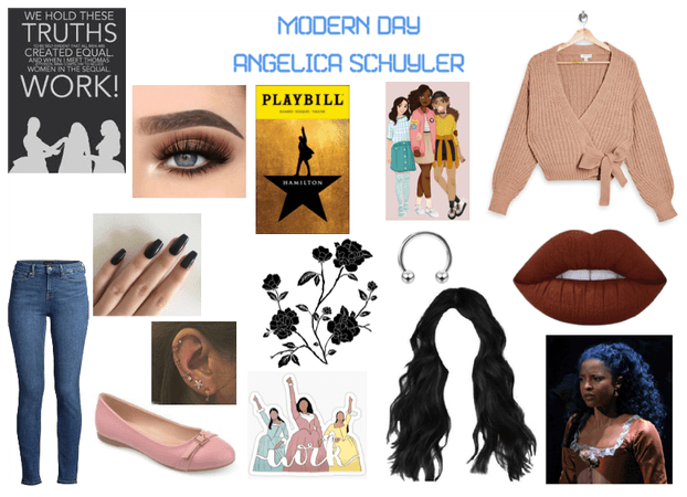 Modern Day Characters Five: Angelica Schuyler