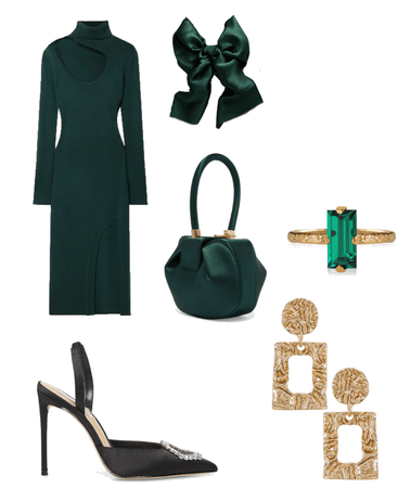 emerald with hint of gold