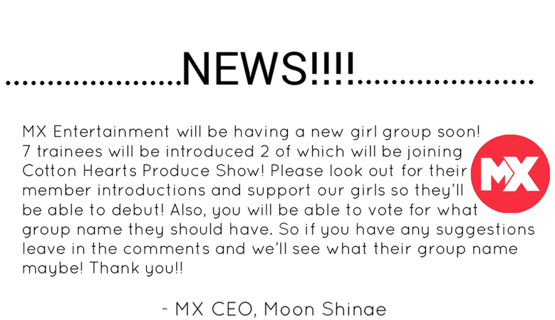 MX New Girl Group! Coming Soon!