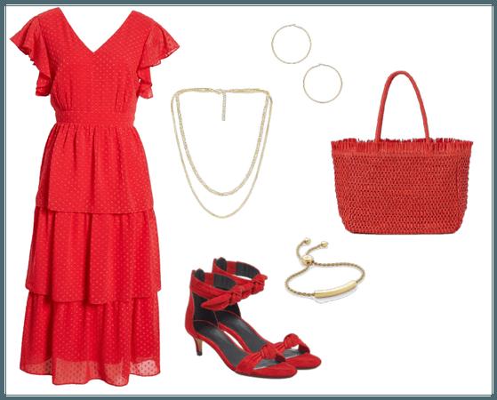 Romantic in red
