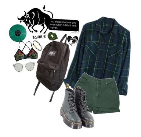 taurus: green&black