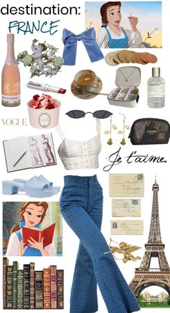 Destination: France (Belle Outfit)