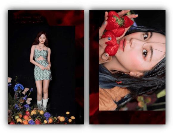 라로그 [𝗟𝗮 𝗥𝗼𝘂𝗴𝗲] - 'HWAA' Jiyoung & Evie [Dystopia: Lose Myself] (07052021)