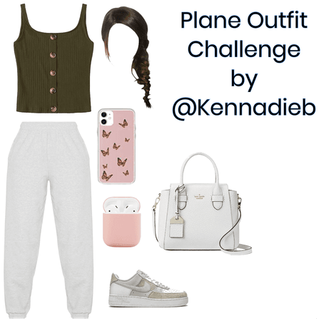 Plane outfit challenge