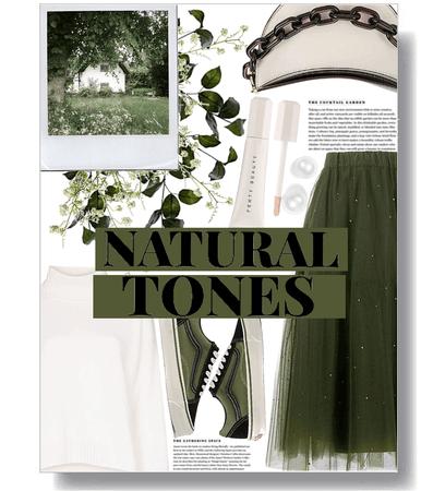 natural tones 🌿