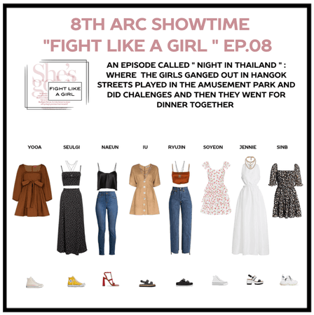 """8th Arc showtime """"FIGHT LIKE A GIRL """" EP.08"""