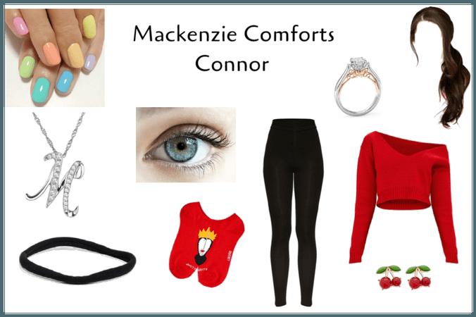 Mackenzie Comforts Connor