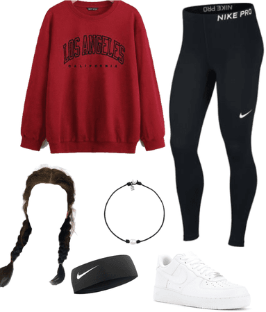 sporty and active