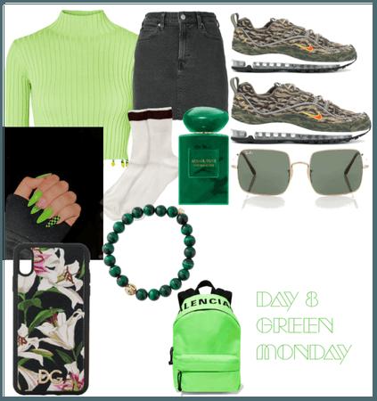 Day 8- Green