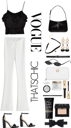 Black and White fit! 🖤🤍
