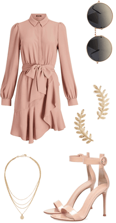 brunch in blush