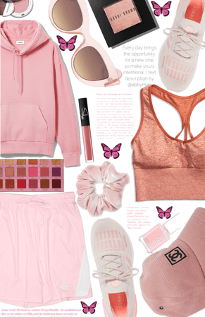 Pink Sporty Looks🏃🏻♀️