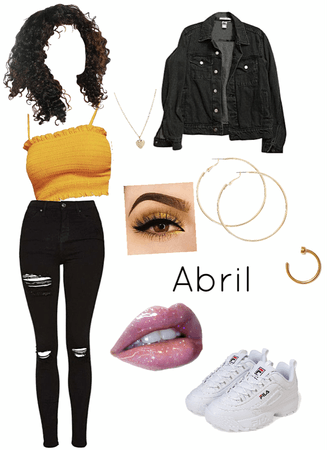 book character: Abril