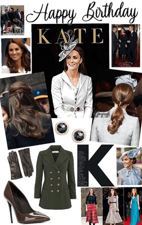 happy birthday princess 👑 Kate xox