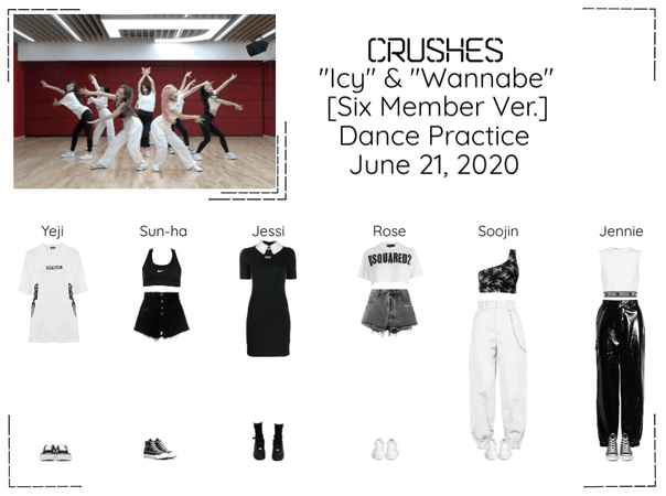 "Crushes (호감) ""Icy"" & ""Wannabe"" [Six Member Ver]"