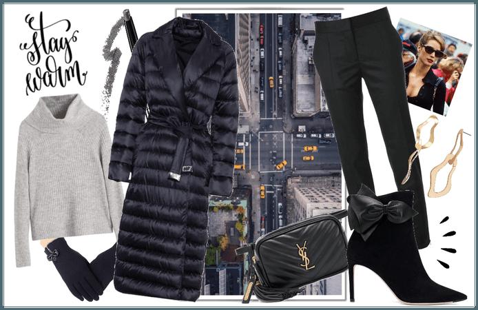 Christy Inspired Coat Set