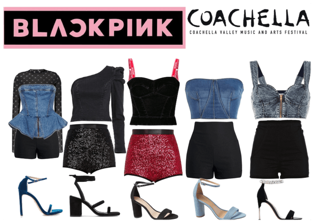 Blackpink coachella outfits