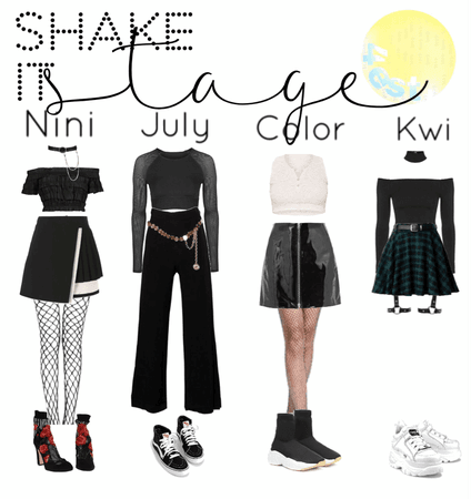 shake it stage outfits