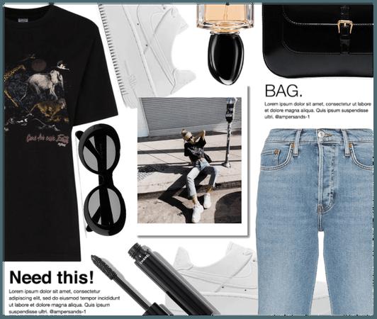 Summer Street Style ( Back to basics )