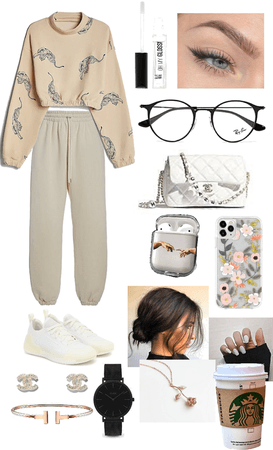 cozy coffee day outfit