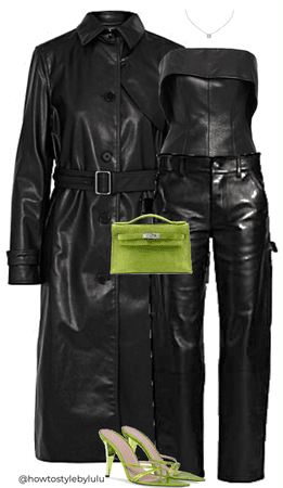 Leather and Green