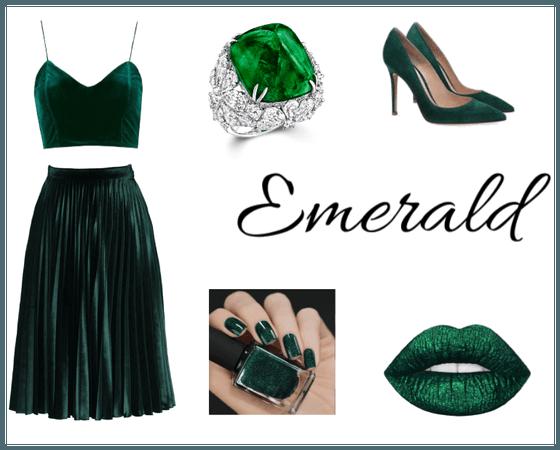 Just a little Emerald.