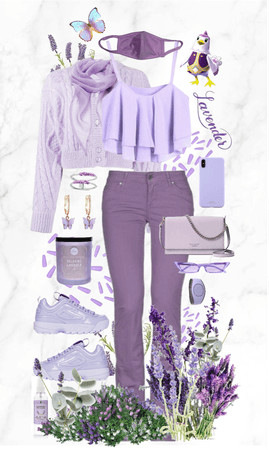 My Lavender Style! Lots of flowers!