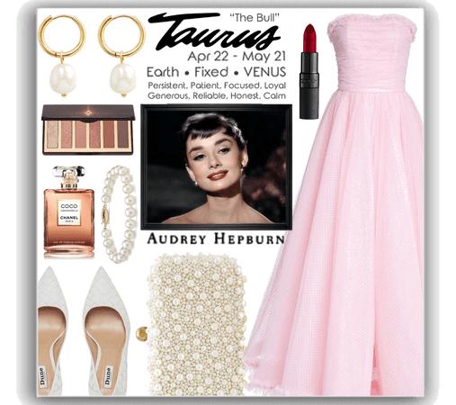 the Taurus ♉️ Audrey Hepburn