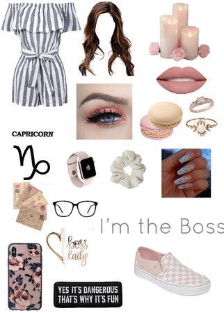 Capricorn Boss Lady