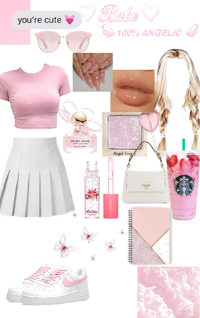 pink style #pink #backtoschool 🌸