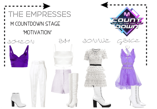 [THE EMPRESSES] M COUNTDOWN STAGE