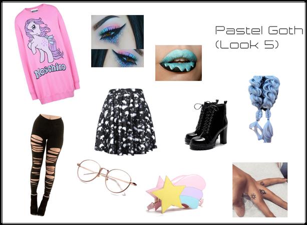 Pastel Goth (Look 5)