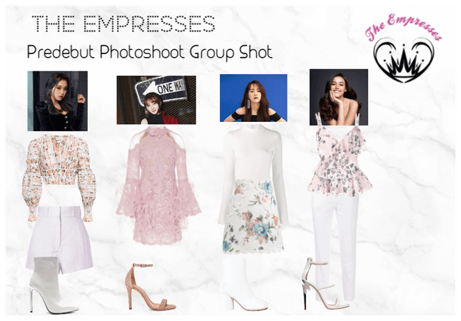 [THE EMPRESSES] Predebut Photoshoot- Group