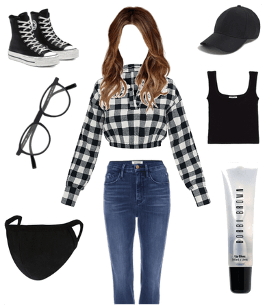 Casual black Aesthetic Outfit