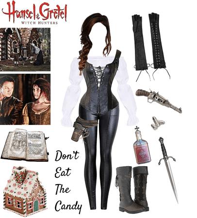 Gretel's Twin Gisel - Hansel & Gretel Witch Hunters OC