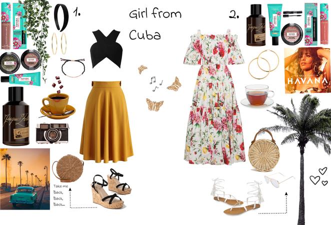 Girl from Cuba