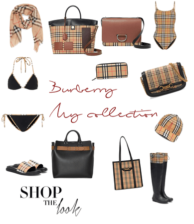 Burberry my collection