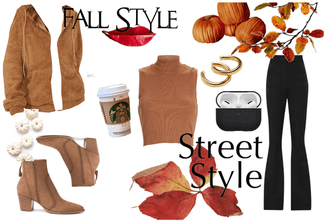 fall with a lot of style