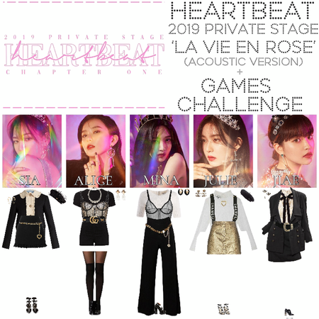 "[HEARTBEAT] 2019 PRIVATE STAGE | ""LA VIE EN ROSE"" (ACOUSTIC) + GAMES CHALLENGE"