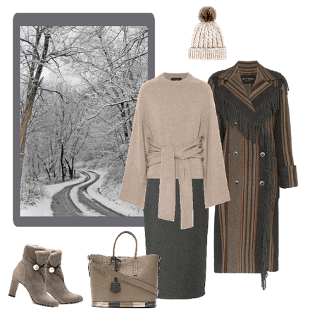fall snow outfit
