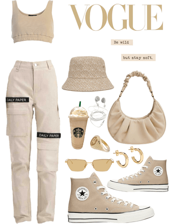 Monochrome beige