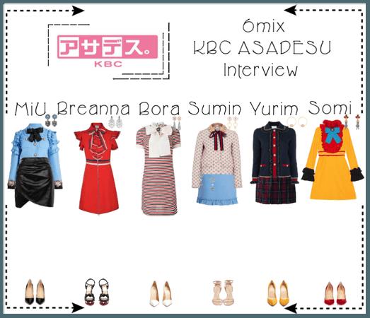 《6mix》KBC Japan's Asadesu Interview